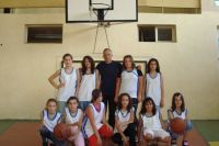 Отбор по баскетбол - момичета